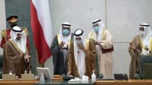 Kuwait's new emir meets senior U.S., Iranian officials