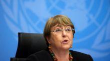 U.N. human rights boss urges Saudi Arabia to allow free speech, assembly