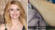 Bella Thorne shared her leg hair on Snapchat, because why not