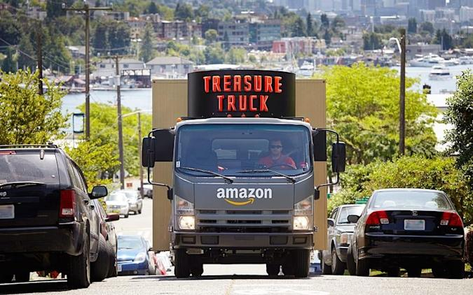 Amazon's Treasure Truck is like an ice cream truck for deals