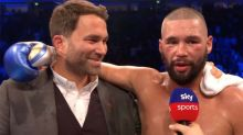Promoter hits back at 'controversial' post-fight interview
