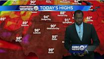 Get ready for a warm, windy Tuesday