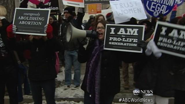 Kansas Lawmakers Pass Strict Anti-Abortion Law
