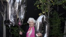 This woman celebrated her 101st birthday with a workout