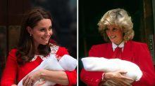 """10 vezes em que Kate Middleton """"copiou"""" os looks da princesa Diana"""