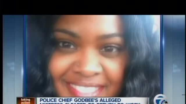 Police Chief Godbee's alleged mistress cleared to return