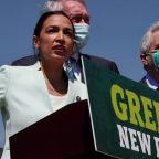 AOC, Markey relaunch Green New Deal