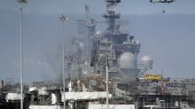 Navy chief: US warship's fate uncertain; damage extensive