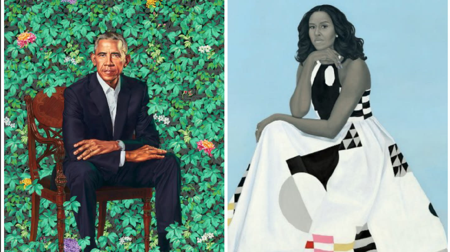 People Have Strong Reactions To Barack And Michelle Obama's Portraits