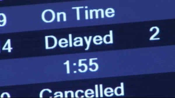 Airline delays blamed on sequester