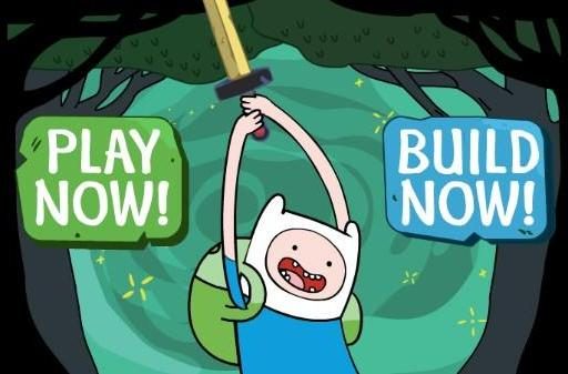 Build your own Adventure Time game