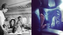 Then and now: 22 photos that prove air travel isn't what it once was