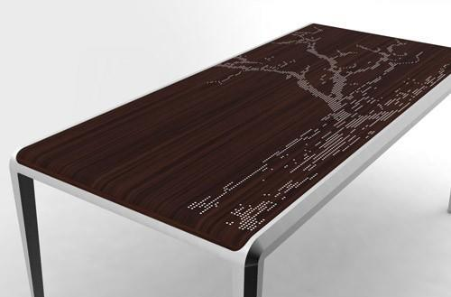 Arbonata Light Table classes up LEDs and dining rooms