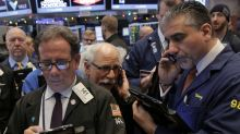 Wall Street edges lower in choppy session