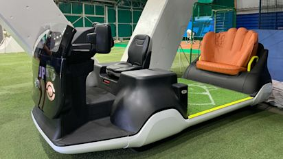 Is this MLB's cart of the future?