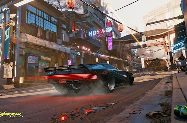 CD Projekt Red is 'reconsidering' Cyberpunk 2077 multiplayer
