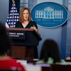 White House press secretary Jen Psaki says she advises Biden not to take spontaneous questions from reporters