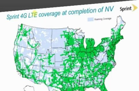 Sprint outlines LTE coverage plans at RCA Expo