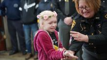 Community comes together to make unicorn dreams come true for 8-year-old battling brain cancer