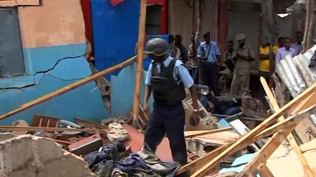 At least two killed in Somali market bomb