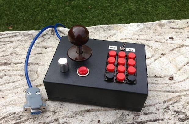 All-in-one Atari 2600 controller crafted to curtail retro gaming clutter