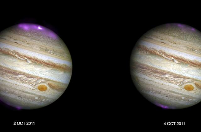 Solar storms trigger X-ray auroras on Jupiter