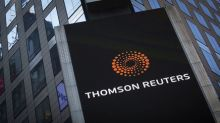 Thomson Reuters profit tops Wall St. forecasts, shares hit all-time high