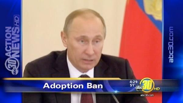 American parents frustrated by adoption ban