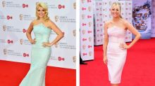 Holly Willoughby and Tess Daly were almost identical at the BAFTA TV Awards