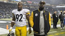 Steelers coach Mike Tomlin addresses not playing James Harrison
