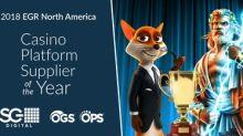 Scientific Games Wins Best Casino Platform Supplier At 2018 EGR North America Awards