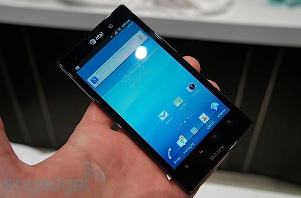 Sony Xperia Ion hands-on (updated: video)