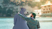 Sí, Luigi Kemo Volo comparte su vida con los personajes de Disney