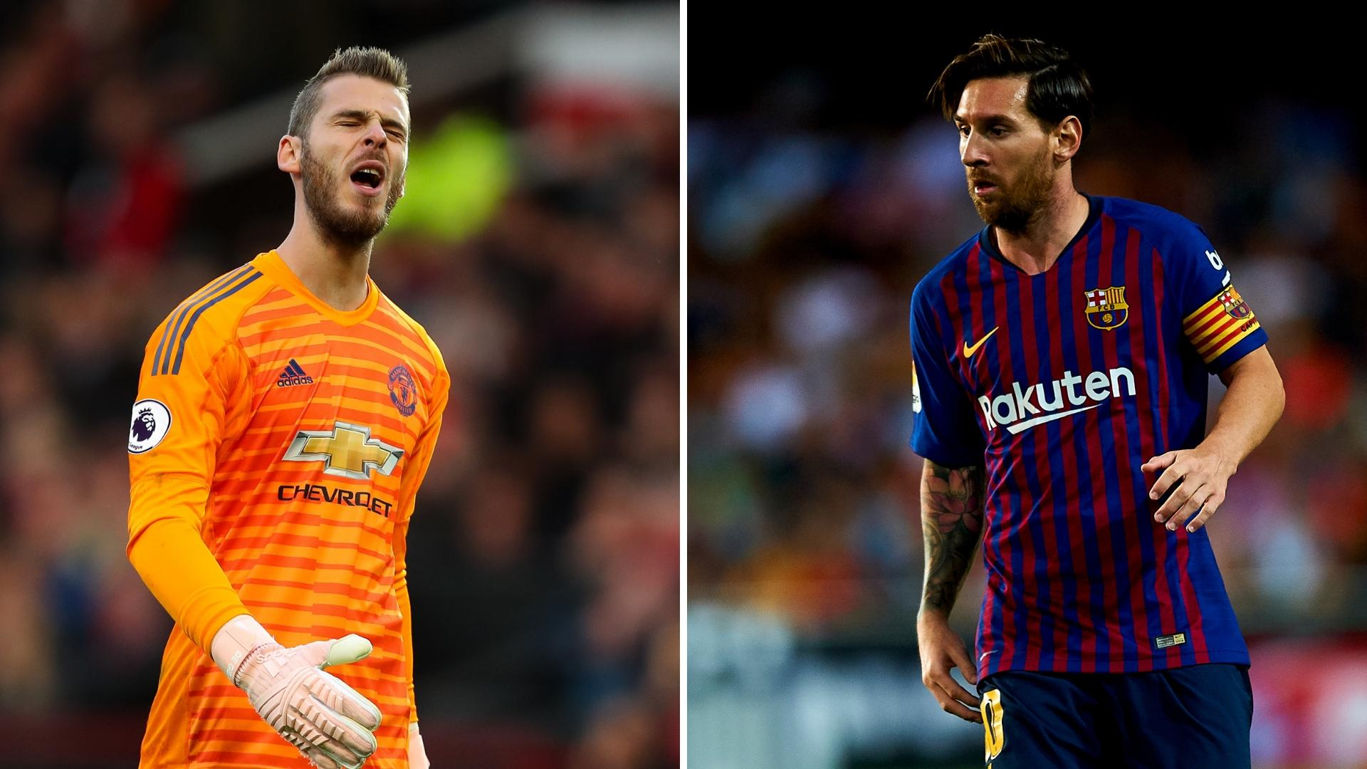 Gossip: Manchester United 'could sell De Gea' and City 'offered to triple Messi's wages'
