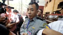 Family of Myanmar policeman who described sting on Reuters reporters evicted: family