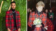 Lewis Hamilton mocked for dressing exactly like Princess Diana