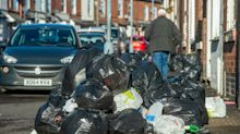 Rubbish piles up on Birmingham streets as binmen work to rule in ongoing dispute with council
