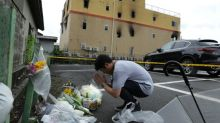 'Hell' of Japan fire that killed dozens at anime company