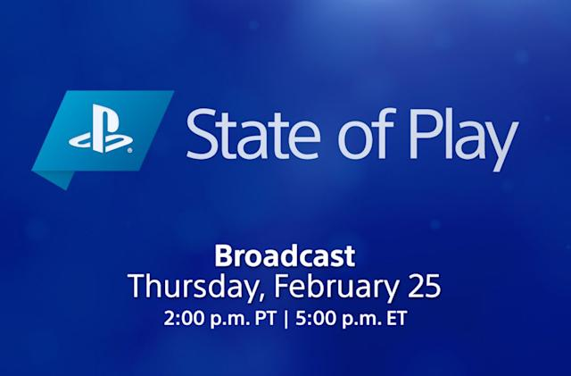 Sony's next State of Play previews PS5 and PS4 games on Thursday