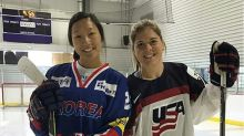 Hockey sisters share golden Olympic memories