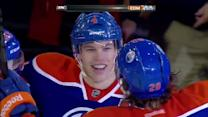 Taylor Hall Hat Trick