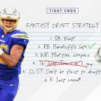 2017 Fantasy Football Rankings Tiers, Draft Strategy: Tight ends