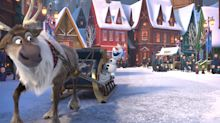 Ring in the season with these exclusive photos from 'Olaf's Frozen Adventure'