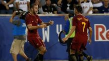 Roma snatch late win over Spurs in ill-tempered 'friendly'