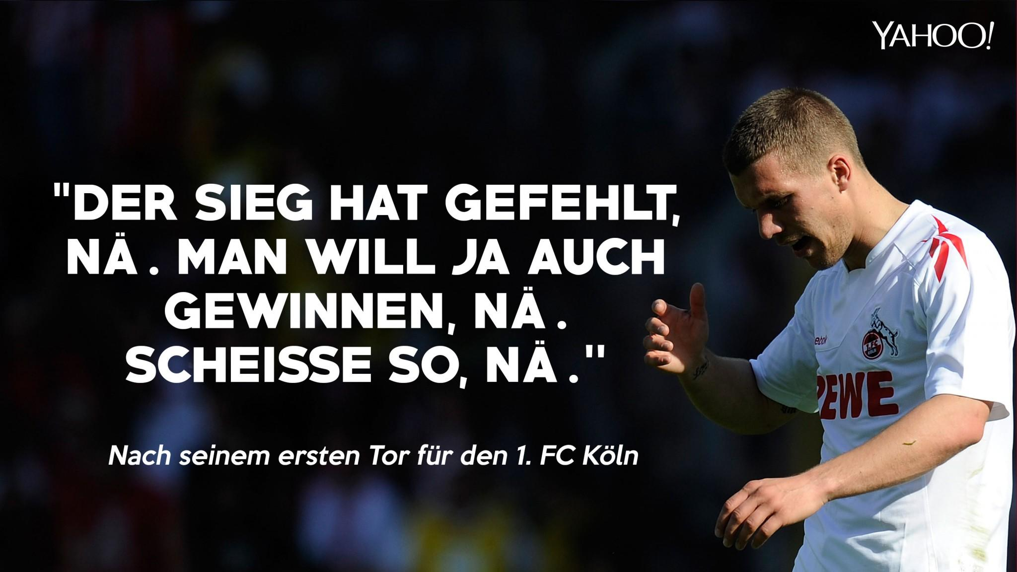 Lukas Podolski Sprüche