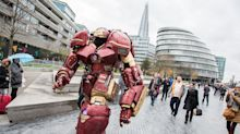 Epic Hulkbuster Costume Spotted In London