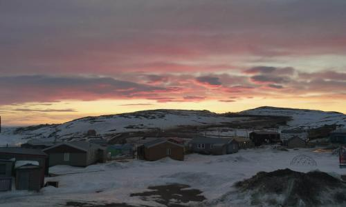 Canadian territory of Nunavut to lock down after first Covid case leads to spike
