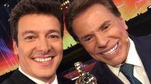Rodrigo Faro quer autorização de Silvio Santos para viver o apresentador no cinema