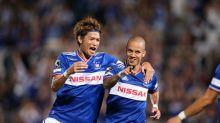 Marcos Junior sai do banco, marca no último minuto e Yokohama vence