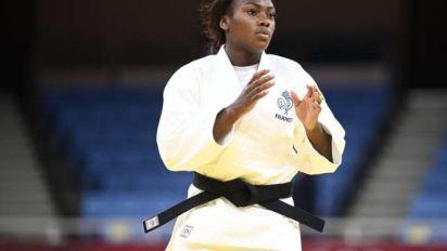 JO - Judo (F) - Clarisse Agbégnénou se qualifie pour les demi-finales des JO de Tokyo